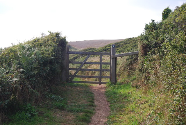 Gate, Pembrokeshire Coastal Path