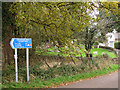 SX9784 : Cycleway signage by Stephen Craven
