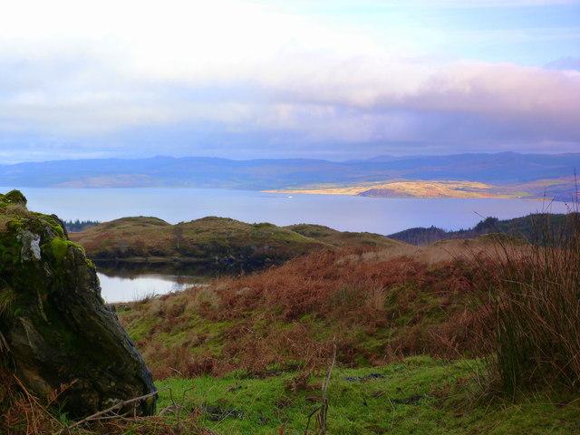 Moorland above Glen Ralloch