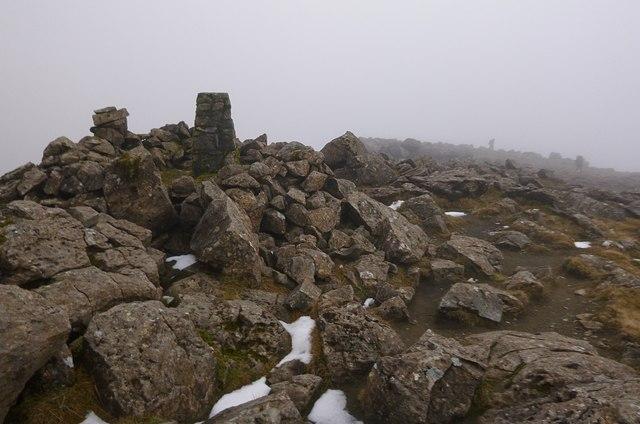 Summit of Askival