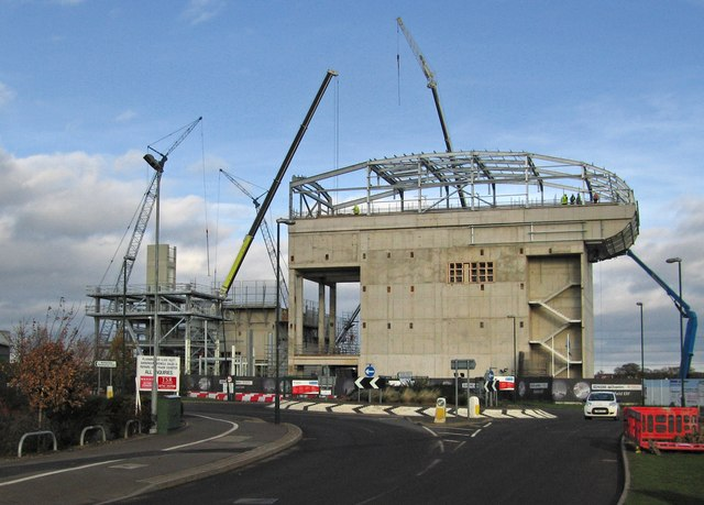 Construction of the new Veolia Energy from Waste Facility (2)