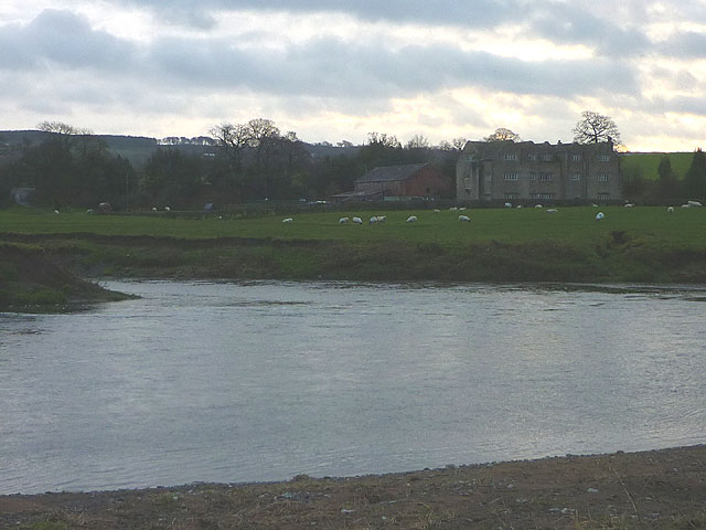 Confluence of the Calder and Ribble