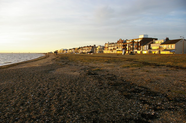 Southend-on-Sea: by the Thames estuary