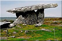 M2300 : Burren - Poulnabrone Dolmen - View to Northwest by Joseph Mischyshyn