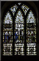 SK1337 : Stained Glass Window, St Giles' church by J.Hannan-Briggs