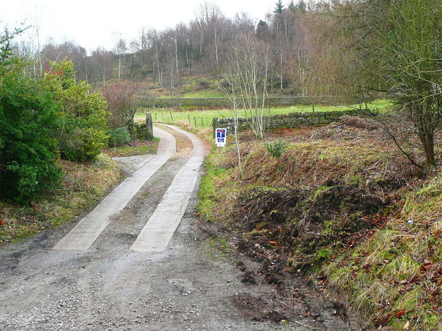 Driveway to New Lane off Cragg Road