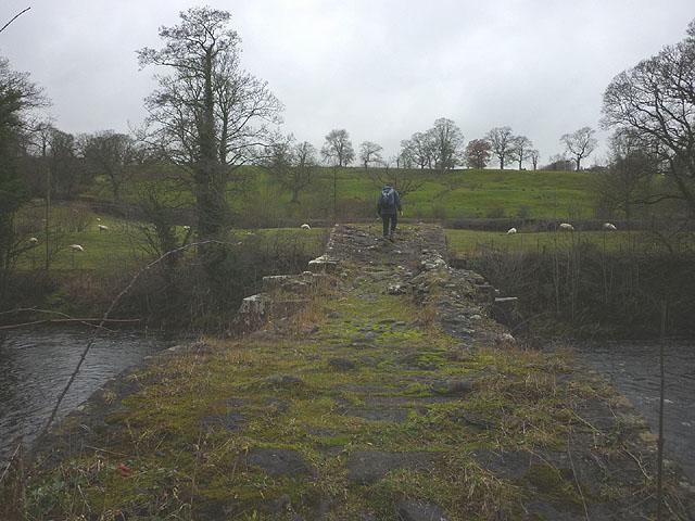 Old Bridge, Lower Hodder (Cromwell's Bridge)