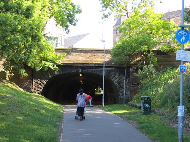 Rodney Street Tunnel by Richard Webb