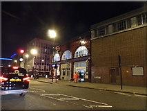 TQ3179 : Lambeth North Station on Westminster Bridge Road by David Howard