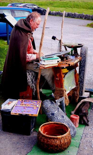 Burren - Poulnabrone Dolmen Area - Celtic Designer