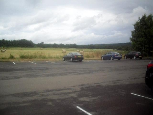 Car park, Derwent Manor