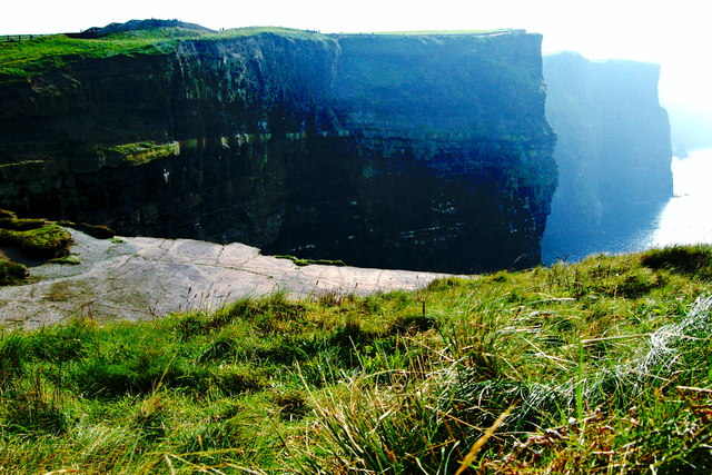 Cliffs of Moher - Off-Limits Observation Ledge