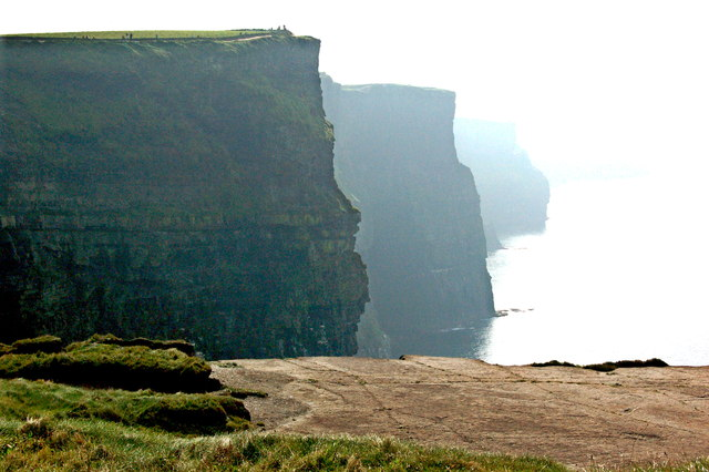 Cliffs of Moher - Ledge & Cliffs