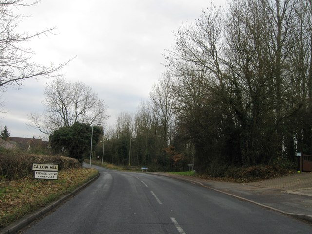 Entrance to Callow Hill