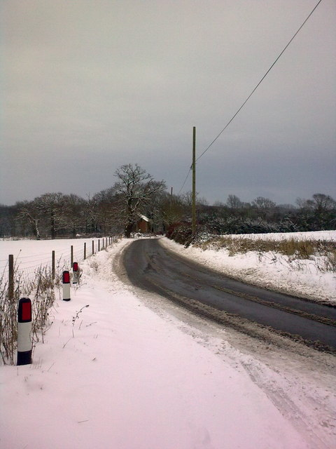 Rendham Road, Sibton