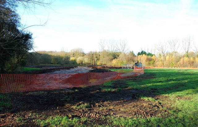 Construction of extension to Spennells Valley Nature Reserve, Spennells, Kidderminster