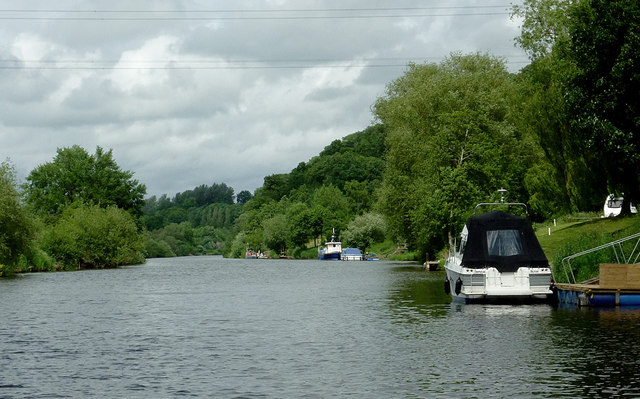 The River Severn near Lincomb, Worcestershire
