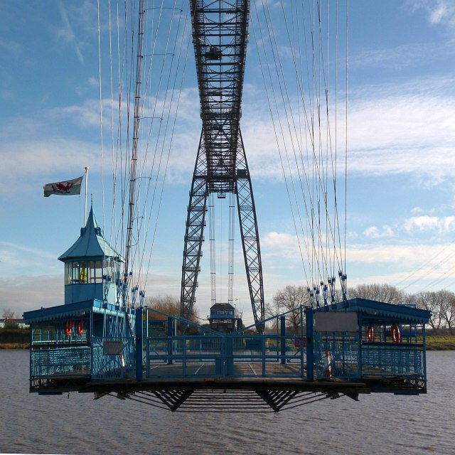 Newport Transporter Bridge: winter shutdown (3)