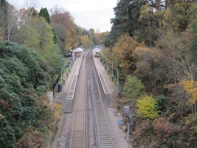 Oxshott railway station, Surrey