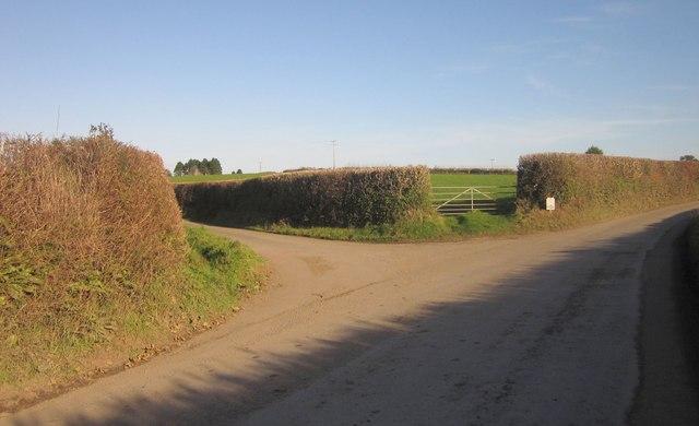 Junction, Bake Lane End