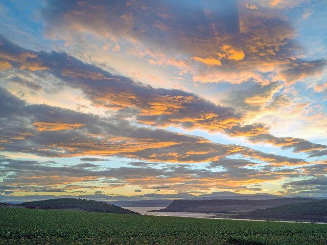 Dawn over Munlochy Bay