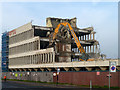 TQ8984 : Demolishing Esplanade House by Robin Webster