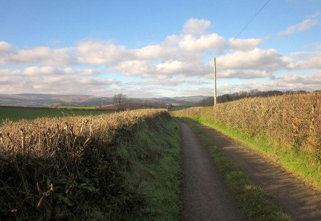 Lane to Baddaford