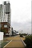 TQ3979 : The Thames Path to Greenwich by Steve Daniels