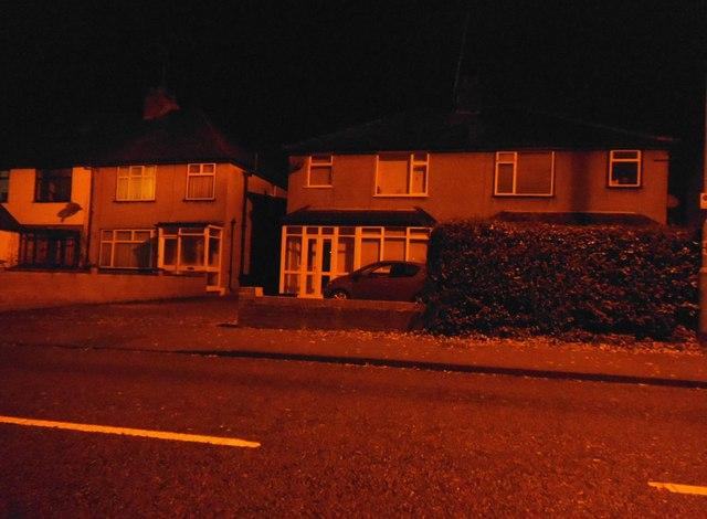 Houses on Batchwood Drive, St Albans