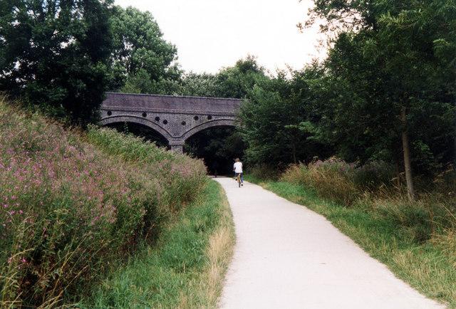 Ashbourne Heights Bridge near Fenny Bentley on the Tissington Trail