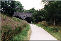 SK1750 : Ashbourne Heights Bridge near Fenny Bentley on the Tissington Trail by Jo Turner