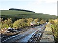 NT4250 : Borders Railway under construction by Richard Webb