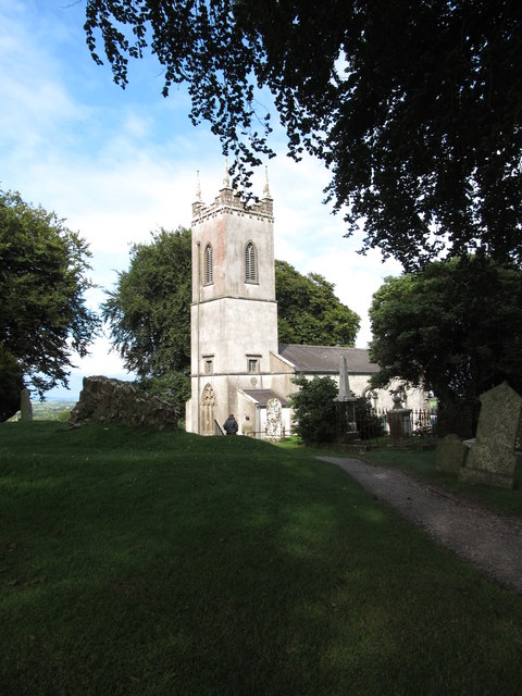 The former St Patrick's Parish Church (CoI) at Tara