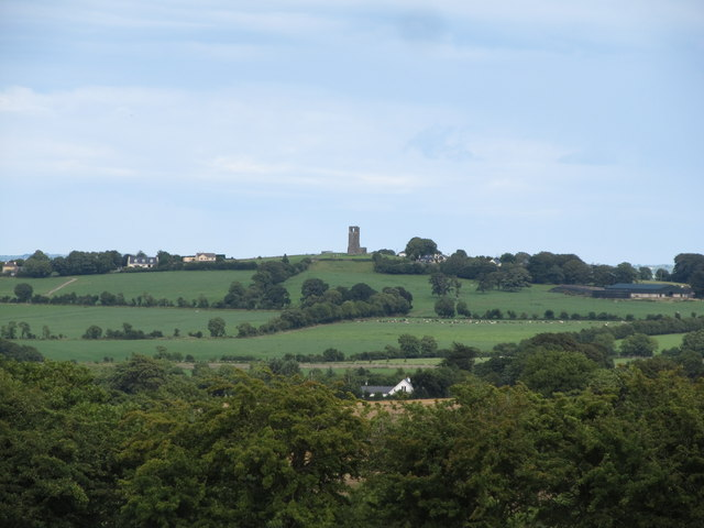 The Hill of Skryne from Tara