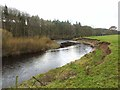 NY5563 : The River Irthing at Lanercost by Oliver Dixon