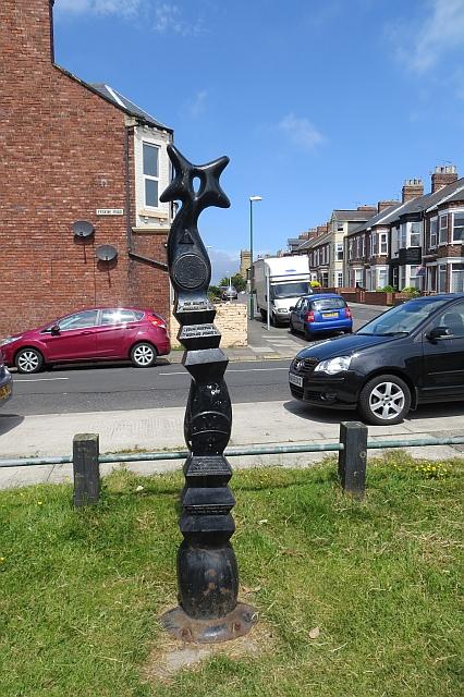 Millennium Milepost, South Shields