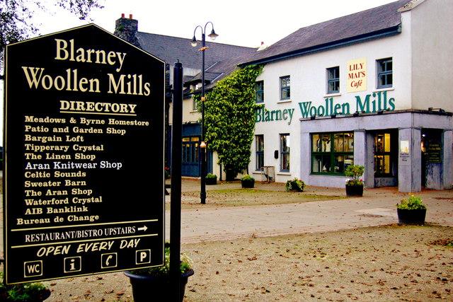 Bunratty  - Directory & Blarney Woollen Mills