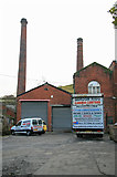 SD9321 : Jubilee Mill, Walsden by Chris Allen