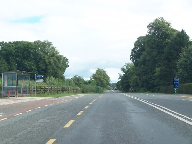 The entrance to Dalgan Park on the R147