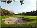 SP0675 : Bunker, King's Norton Golf Course, northeast area by Robin Stott