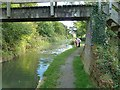 SU0781 : Feeding the ducks on the Wilts and Berks Canal by Penny Mayes