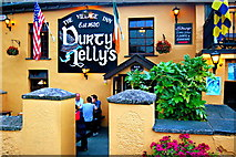 R4560 : Bunratty - Durty Nelly's Pub - Front Side & Entrance by Joseph Mischyshyn