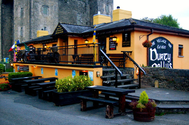 Bunratty - Durty Nelly's Pub - Front & Southeast Sides