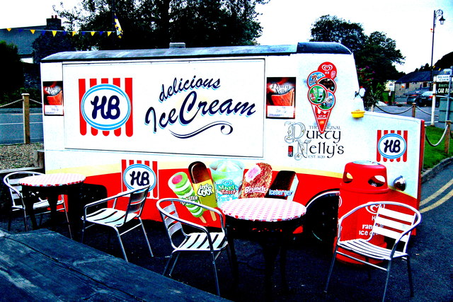 Bunratty - Durty Nelly's HB Ice Cream Truck Kiosk