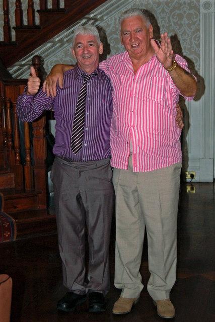 Bunratty Castle Hotel - Two Happy Wedding Reception Guests