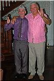 R4460 : Bunratty Castle Hotel - Two Happy Wedding Reception Guests by Joseph Mischyshyn