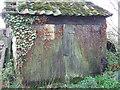 TM1971 : Door Of Old Barn by Keith Evans