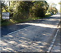 SO8833 : Worcestershire boundary sign viewed from Gloucestershire by Jaggery