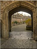 ST5545 : Vicars' Close, Wells Cathedral by David Dixon