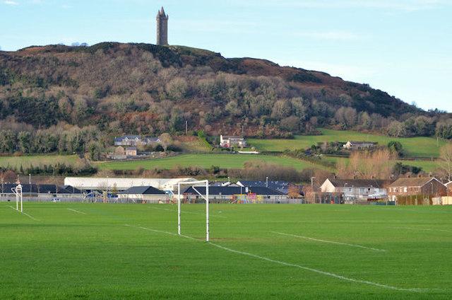 Playing fields, West Winds, Newtownards